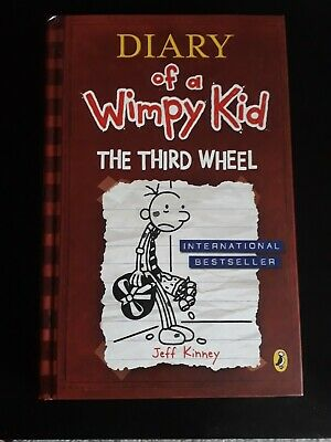 Diary of a wimpy kid - The Third Wheel book Hardback by Jeff Kinney
