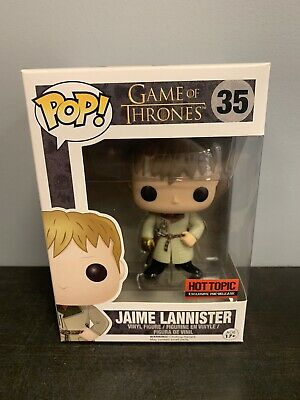 Funko POP! Game of Thrones Jaime Lannister #35 Hot Topic Exclusive