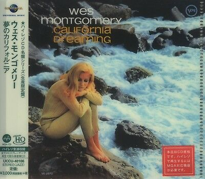 Wes Montgomery - California Dreaming+++UHQCD Japan Import+++++NEU++OVP
