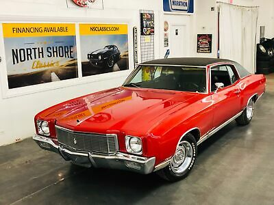 1971 Chevrolet Monte Carlo -FACTORY BIG BLOCK-PRICE DROP-SEE VIDEO 1971 Chevrolet Monte Carlo, Victory Red with 94,692 Miles available now!