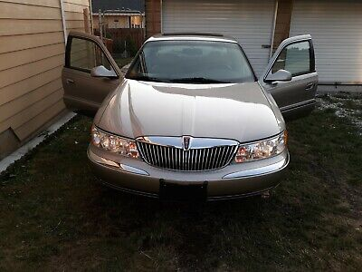 2002 Lincoln Continental  `02 Lincoln Cont. 40 Kmi on new motor, document proven. Buy It Now $ 3,000.