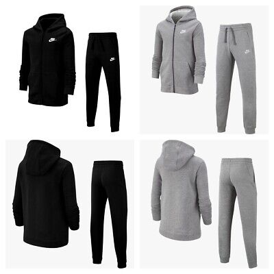 Nike Boys Tracksuit Kids Sportswear Full Zip Tracksuits Junior Bottoms Sports