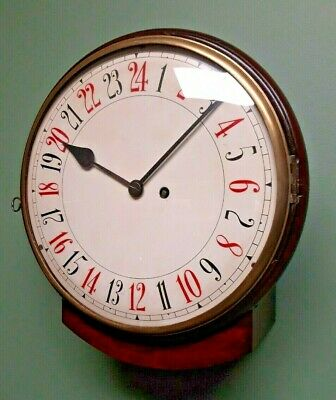 10 Inch Drop Dial. True 24 hour movement and Dial.