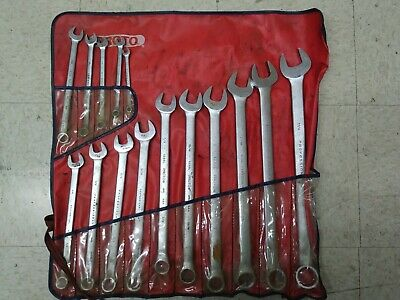 Pronto 12 Point Professional 15 Piece Wrench Set w/ Pouch