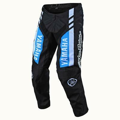 Troy Lee Designs GP Yamaha Black/Cyan Motocross Pants - Size 28-38
