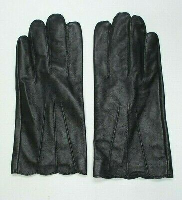 Unbranded Women's L/XL Lined Genuine BLACK Leather Driving Gloves ~NWOTs