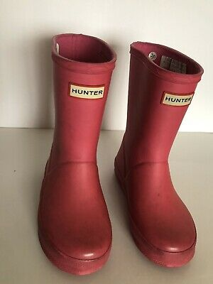 Hunter Kids' Toddlers' Winter/Rain Boots / Size 9 Boys' / 10 Girls'