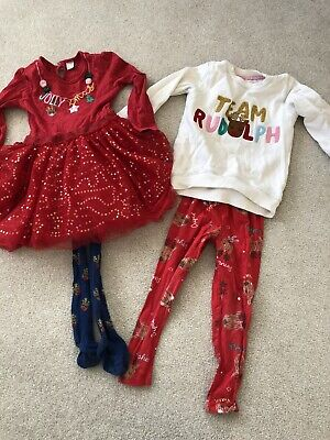 Girls Tu Christmas Bundle Age 3-4 Years