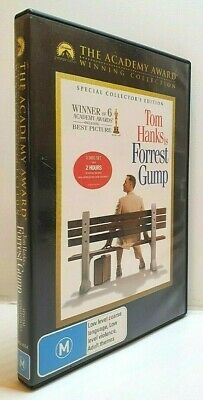 Forrest Gump - Tom Hanks - Robin Wright - DVD - Free AUSPost with Tracking