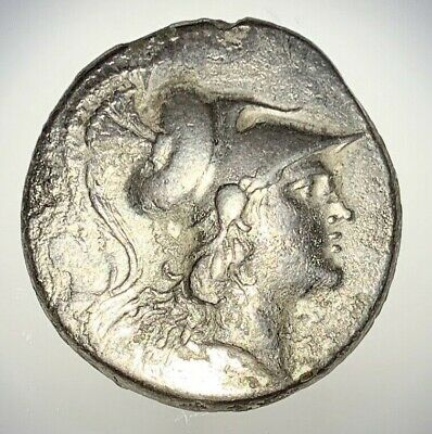 ANCIENT GREEK SILVER COIN; PAMPHYLIA, 2nd - 1st CENTURY BC; TETRADRACHM NICE!