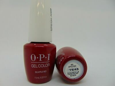 OPI GelColor N25 Big Apple Red 0.25oz / 7.5ml  MINI AUTHENTIC Color!