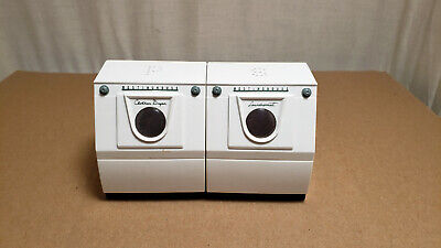 Westinghouse Laundromat And Clothes Dryer Salt And Pepper Shaker Set Very Clean!