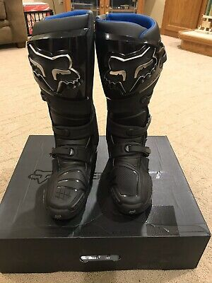 2020 Fox Racing Mens Black Instinct Mx Motorcycle Boots Size 10