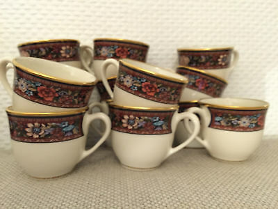 Lenox Presidential Collection Witherspoon 14 Tasses Soucoupes Cup Saucer Usa