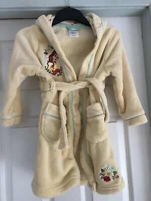 Disney Princess Belle Dressing Gown Age 4 Years