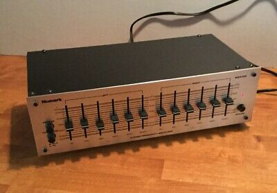 Numark EQ 2100 6-Band Home Stereo Frequency Equalizer
