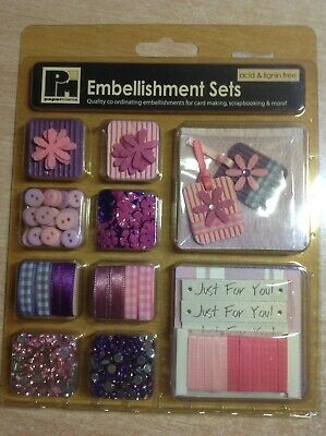 Papermania Embellishment sets