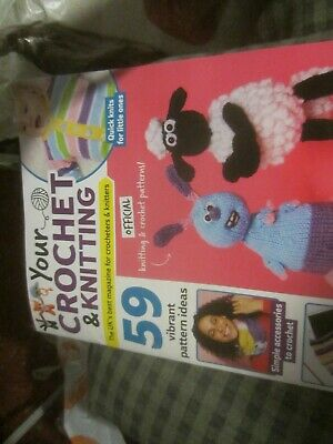 Your Crochet And Knitting Magazine Issue 14 With Farmageddon Patterns