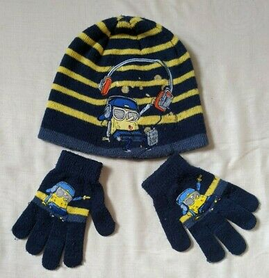 Boys Spongebob Squarepants DJ Fleece Trapper Style Hat Sun Cap Sizes from 3 to 12 Years