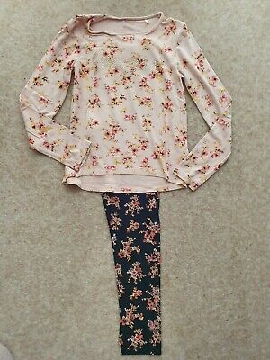 Bnwot Guess Outfit Leggings And Long Sleeve Top Age 8 Sparkly Details Bought Usa