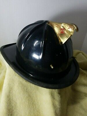 Vintage Cairns and Brother  firefighters helmet missing inside