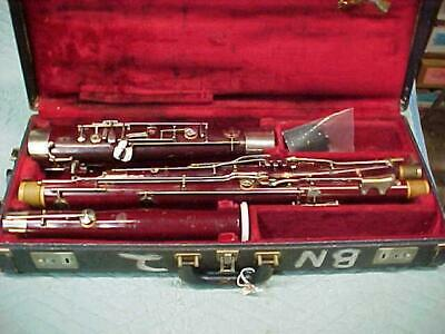 Vintage Olds Special Bassoon, Complete