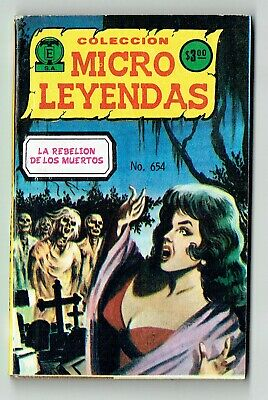 92 art pages -  ink on card - Mexican - Gothic Horror - 1980 - Complete + comic