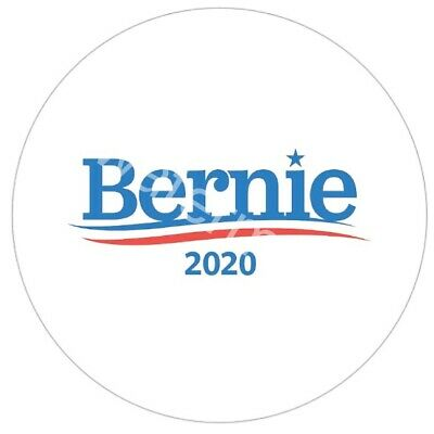 """Bernie Sanders 2020 Pinback Button Pin 2.25"""" President Support Campaign Badge"""