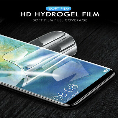 For Huawei mate 20 pro Hydrogel Clear Full Coverage Screen Protector Film Guard