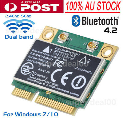 PCI-E Wireless Card Dual Band 2.4G/5Ghz Network Card 433Mbps WIFI Bluetooth 4.2