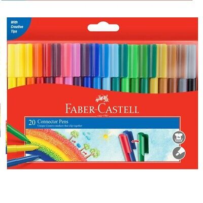 Faber-Castell Connector Pens Wallet of 20