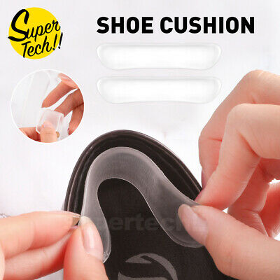 3-12 Pairs Gel Silicone Heel Grip Back Liner Shoe Insole Pad Foot Care Protector