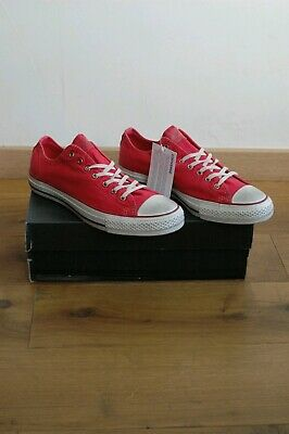 Converse Chuck Taylor all star neuves rouge Taille 42 neuf effet vintage