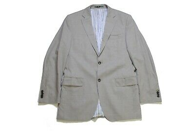 authentic SUITSUPPLY men's blazer gray pure wool Size 50 classic