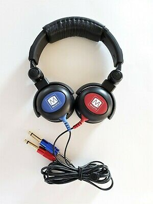Maico Headphones  For Audiometer  With  Tdh 39  And Cables