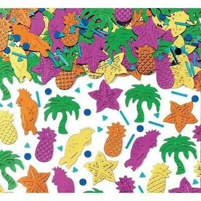NEW Themed   Party Island Party Embossed Metallic Mix Confetti