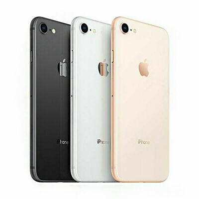 Apple iPhone 8 - 64GB Unlocked Silver ,Grey ,Gold ,RED Colours A++ Grade
