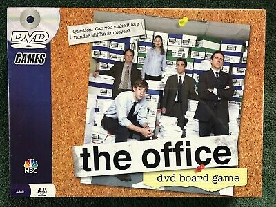 The Office DVD Board Game 2008 Pressman New In Box Factory Sealed