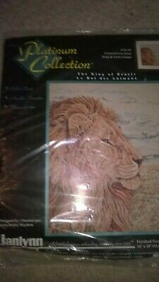 Janlynn Platinum Collection Cross stitch kit - The king of the beasts - 106-30