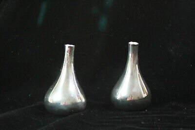 Jens Quistgaard Dansk Mid Century Silver plated Onion Candle Taper Holders