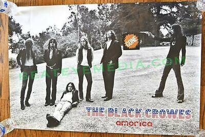 BLACK CROWES-CRB-POSTER-Concert Poster-Fillmore-Bill Graham-CHRIS ROBINSON-ALBUM