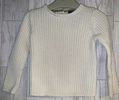 Girls Age 2-3 Years - Long Sleeved Ribbed Jumper Top From Cynthia Rowley (TKMax)