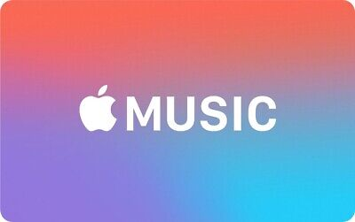New Apple Music 4 Months Individual Service Code Access