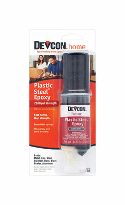 Devcon Home  High Strength  Plastic Adhesive  0.84 oz. - Case Pack of 6