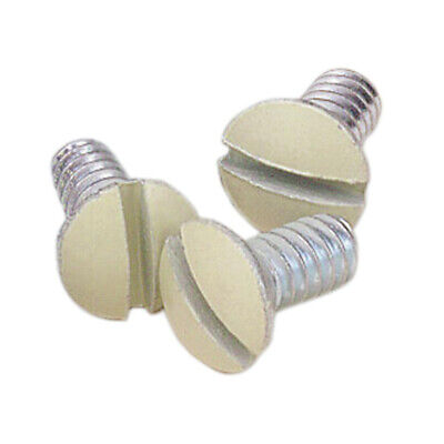Leviton  Ivory  Steel  Wall Plate Screws  20 pk - Case Pack of 25