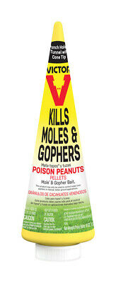 Victor  Poison Peanuts  Bait  Pellets  For Gophers and Moles 6 oz.