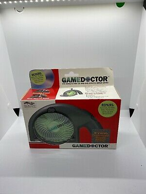 NOS Vintage 1999 GameDoctor Game Doctor CD Disc Cleaner Repair Device