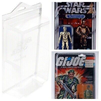 6x9x2.25 100-pack Protech STAR1 Star Case Storage for Star Wars Carded Figures