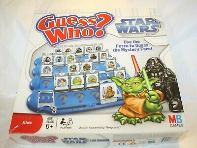 Guess Who? STAR WARS Edition 2008 (all 24 cards included) guessing game for kids