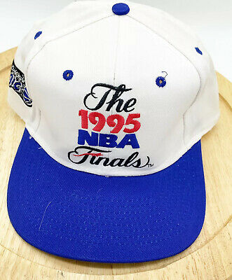 1995 NBA Finals Hat Cap Basketball Houston Rockets vs Orlando Magic Snapback
